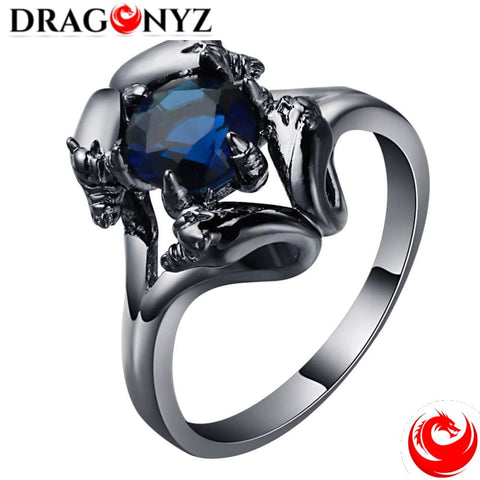 DRAGON RING - VINTAGE BLUE FANCY