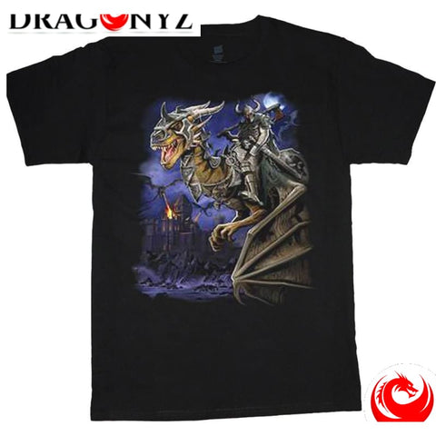 DRAGON SHIRT - BLACK