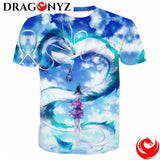 DRAGON SHIRT - CARTOON FLYING