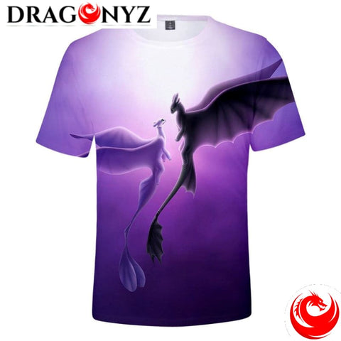 DRAGON SHIRT - CARTOON DRAGON