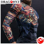 DRAGON SHIRT - CHINESE RED