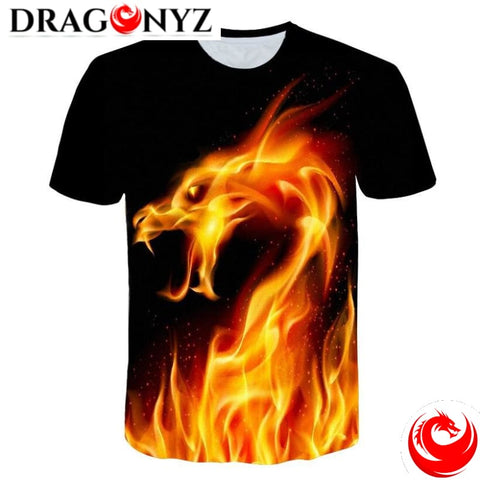 DRAGON SHIRT - FIRE SNAKE