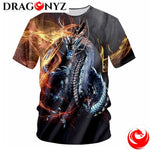DRAGON SHIRT - PRINT FIRE