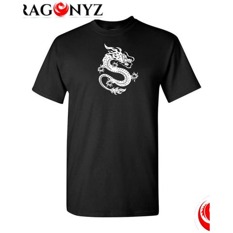DRAGON SHIRT - WHITE CHINESE