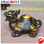 DRAGON STATUE IN A TURTLE POSITION