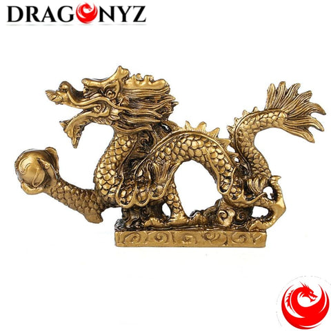 DRAGON STATUE - SYNTHETIC RESIN