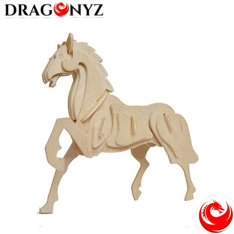 DRAGON TOY - 3D WOODEN