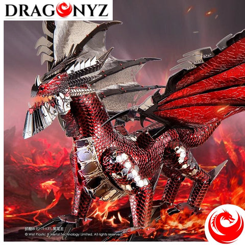 DRAGON TOY - BLACK
