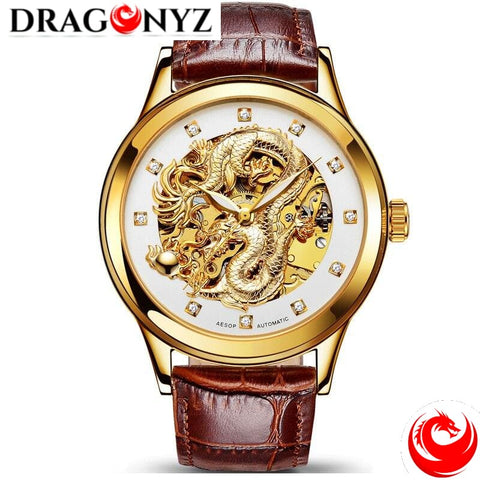 DRAGON WATCH - HIGHLY WATER-RESISTANT