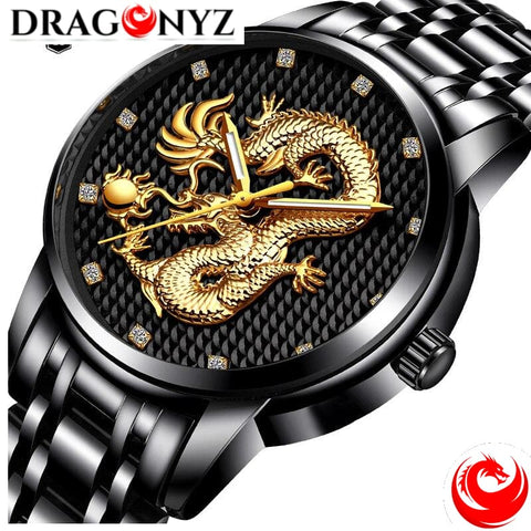 DRAGON WATCH - LEATHER SUPERIOR QUALITY