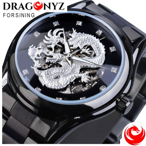 DRAGON WATCH - STAINLESS STEEL BEST QUALITY