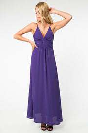 ALL ABOUT LOVE VIOLET MAXI DRESS