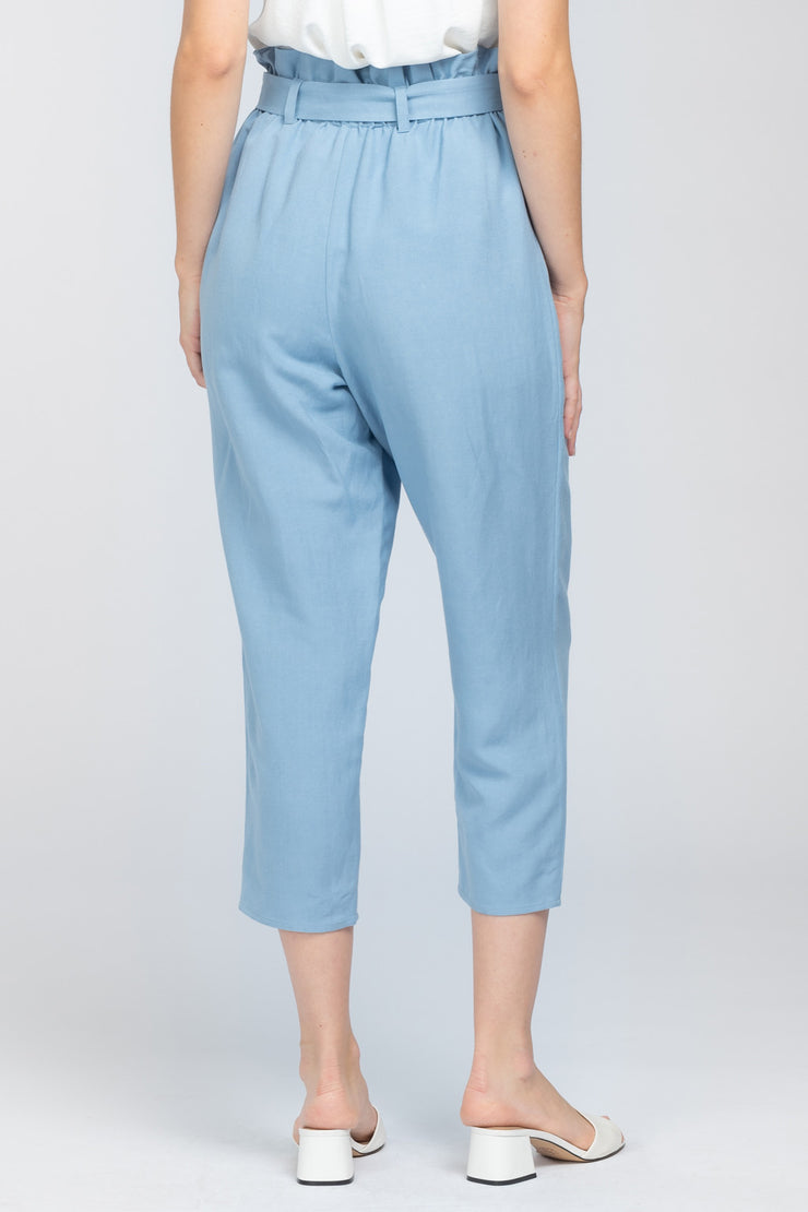 JUST RELAX PAPERBAG WAIST PANTS