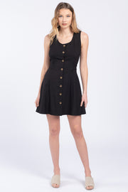 FLORENCE BUTTON DOWN MINI DRESS