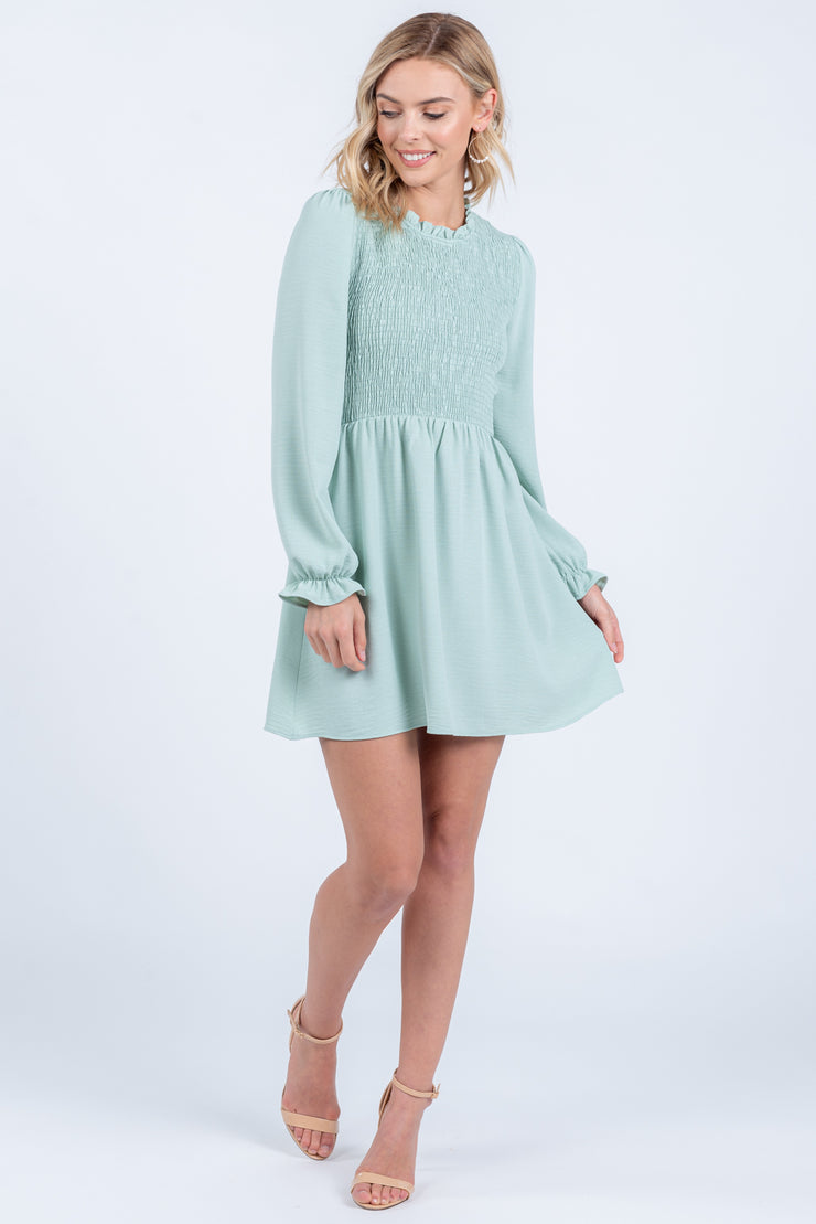 CLOUD NINE BABYDOLL DRESS
