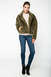 SNUGGLE UP FAUX FUR JACKET