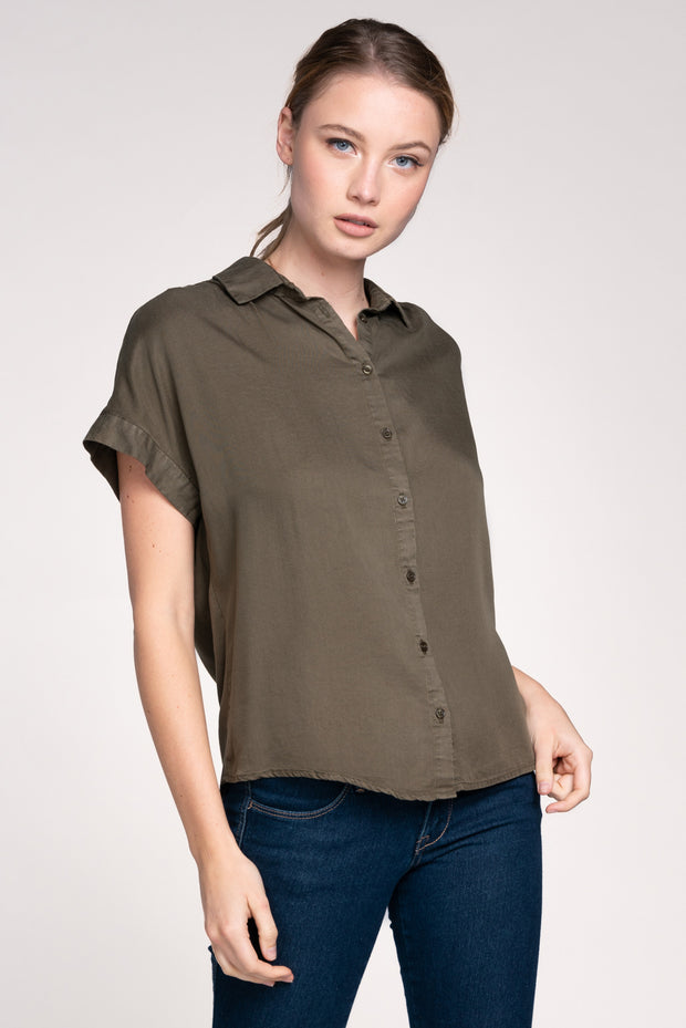 SWEET AND SIMPLE BUTTON UP SHIRT