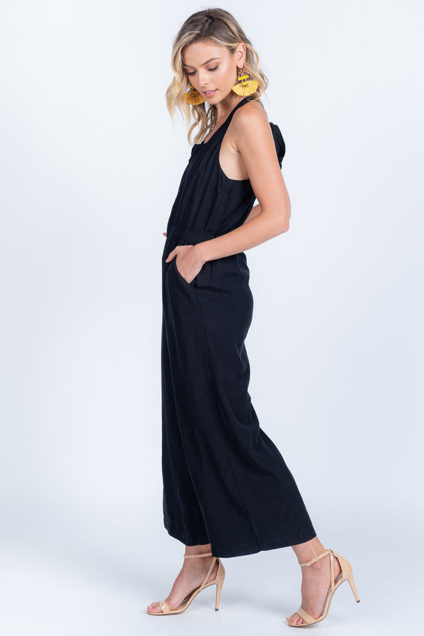 UPTOWN GIRL CULOTTE JUMPSUIT