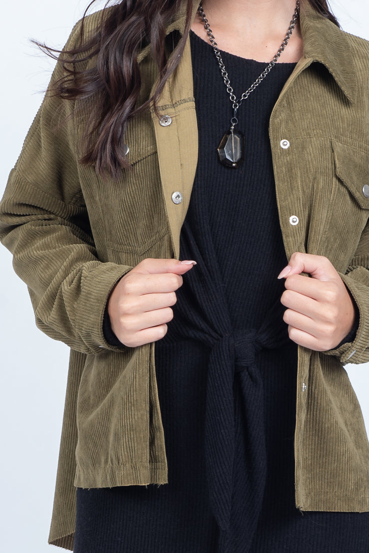YOU'RE A TROOPER OLIVE JACKET