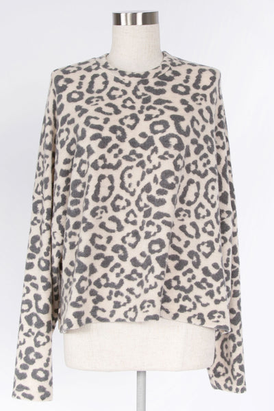 WARM EMBRACE LEOPARD PRINT LONG SLEEVE TOP