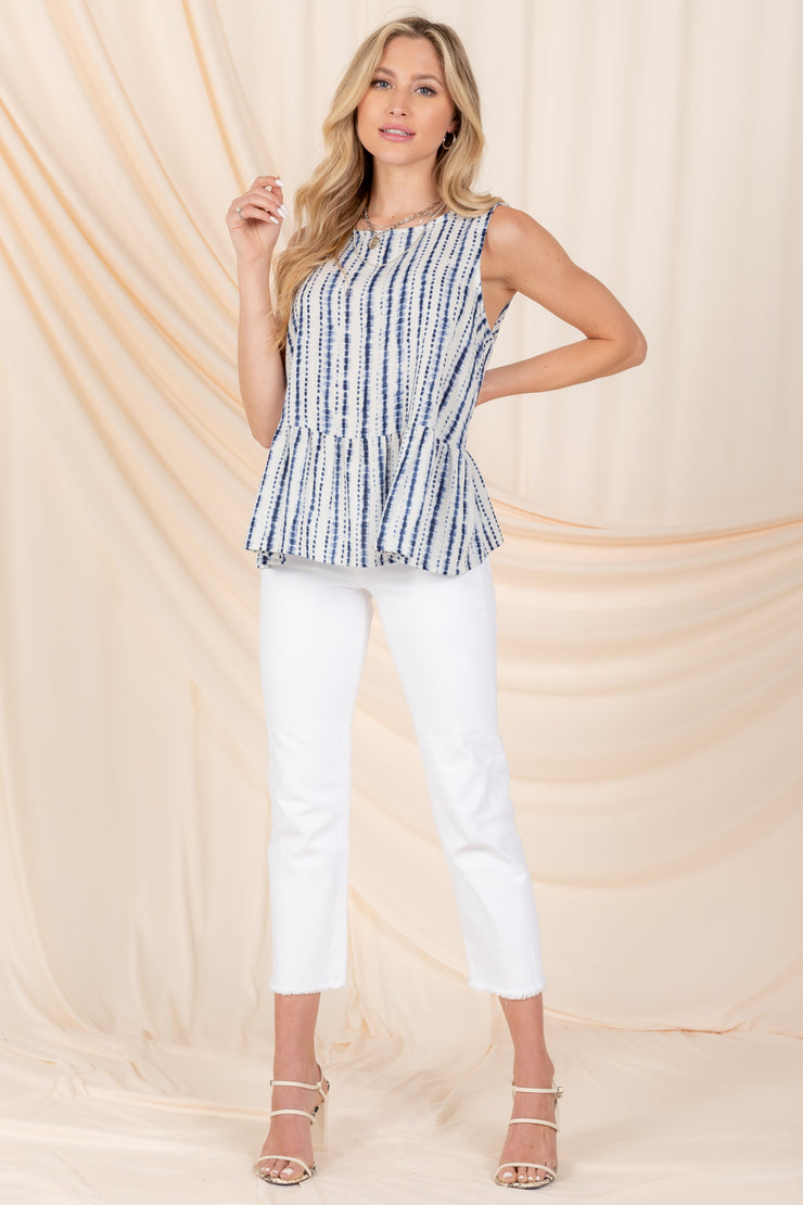 GO BEYOND STRIPED TANK