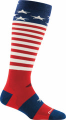 Darn Tough Captain Stripes Jr Over The Calf Light Sock