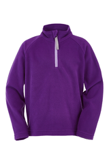 Spyder Toddler Girls Speed Fleece Zip T-Neck
