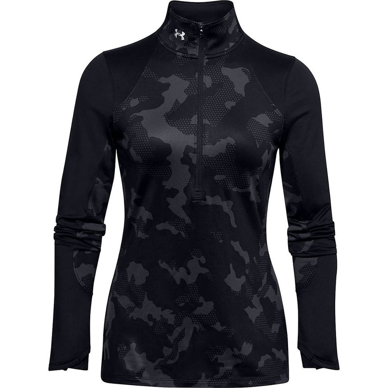 Under Armour Ladies Ua Cg Camo 1/2 Zip Tneck