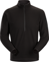 ARCTERYX MENS DELTA LT ZIP NECK