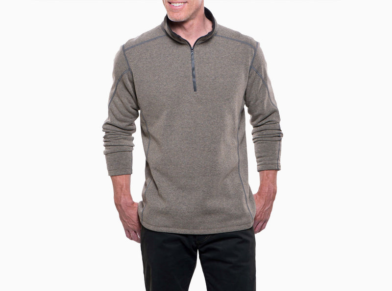 KUHL MENS REVEL 1/4 ZIP SWEATER
