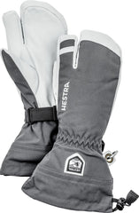 HESTRA MENS HELI 3 FINGER GLOVE