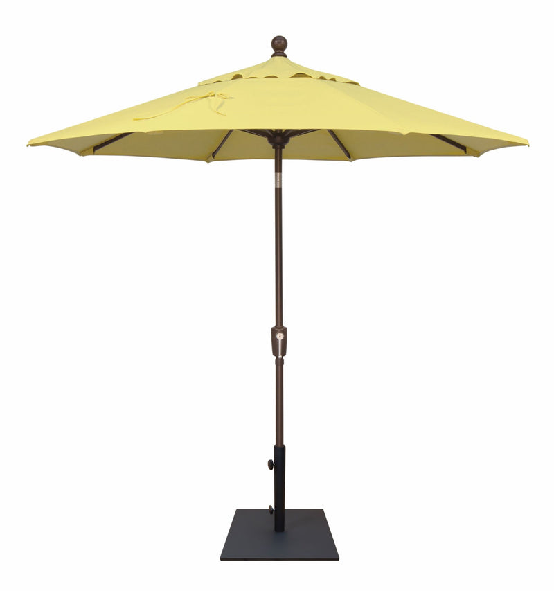 TREASURE GARDEN 7.5' PUSH BUTTON TILT MARKET UMBRELLA