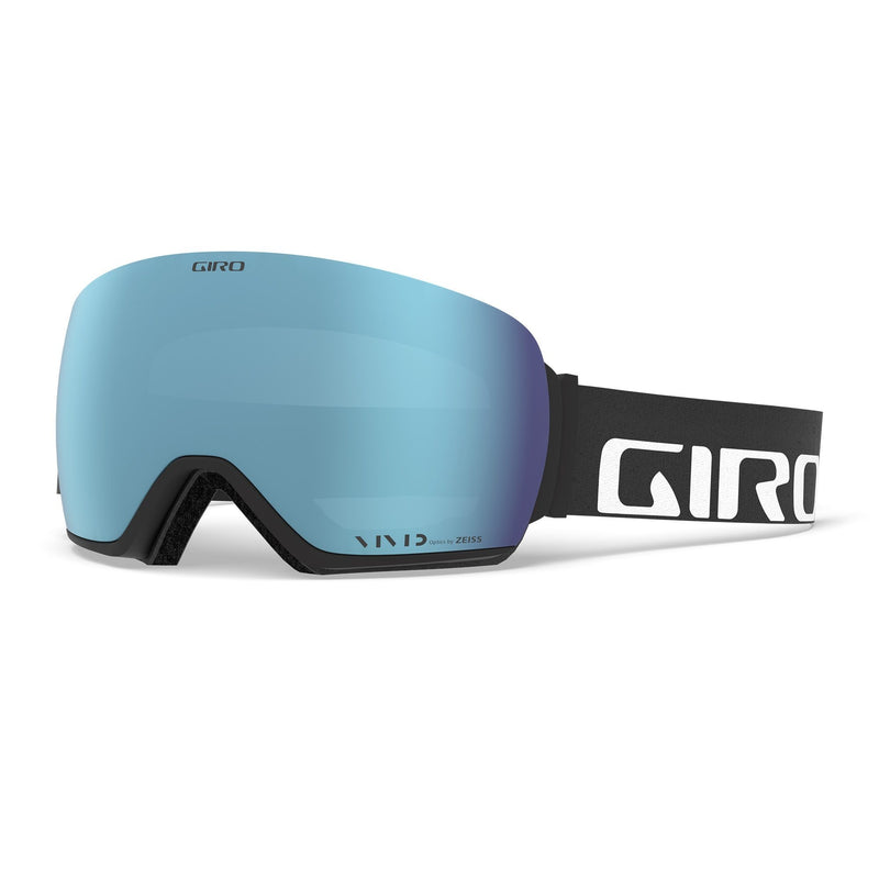 GIRO ARTICLE GOGGLE - BLACK WORDMARK WITH VIVID ROYAL & VIVID INFRARED LENSES
