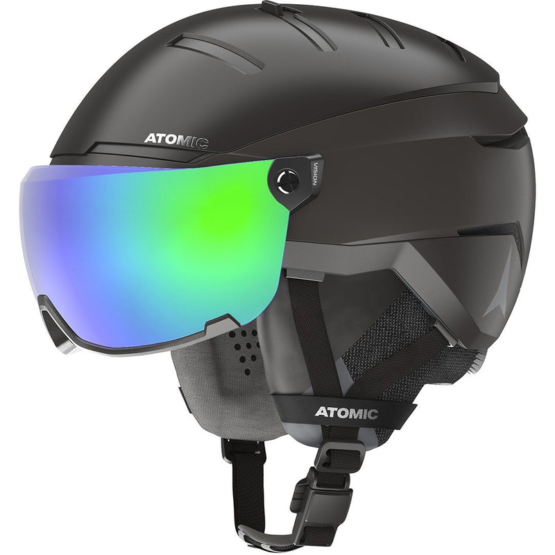 ATOMIC SAVOR GT AMID VISOR HD HELMET BLACK