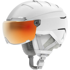 ATOMIC SAVOR GT AMID VISOR HD HELMET WHITE
