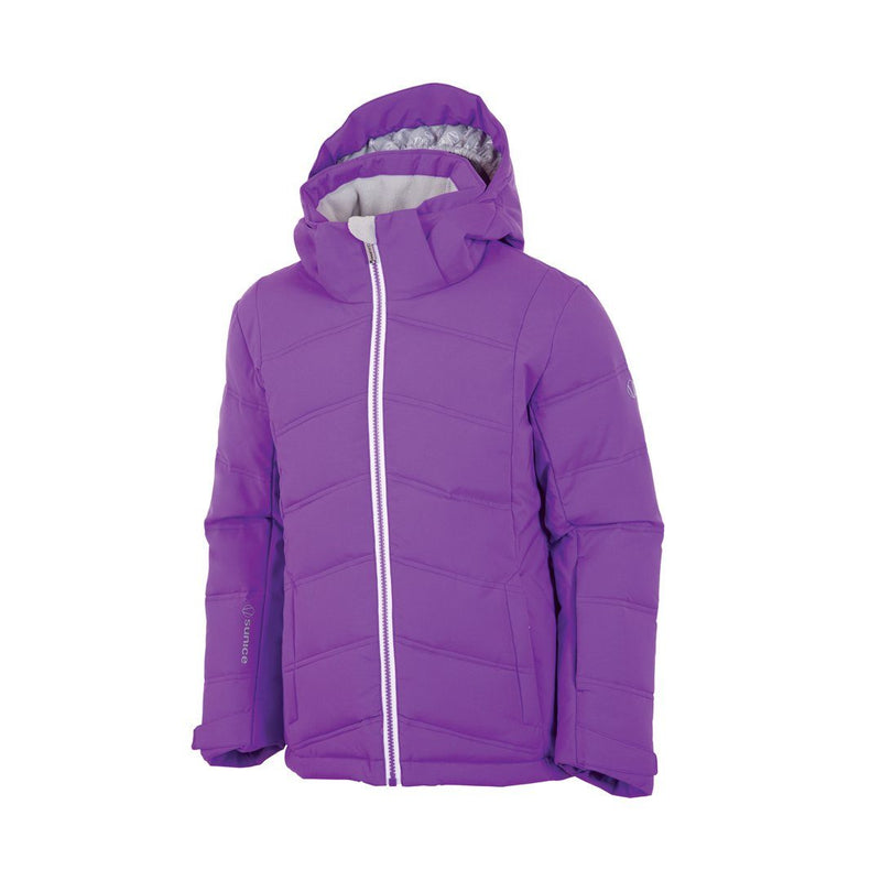 SUNICE GIRLS' AVA QUILTED STRETCH JACKET