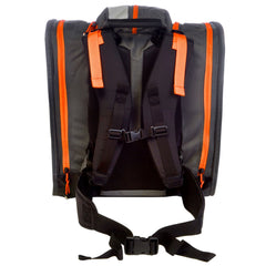 KULKEA BOOT TREKKER BOOT BAG - BLACK/GRAY/ORANGE