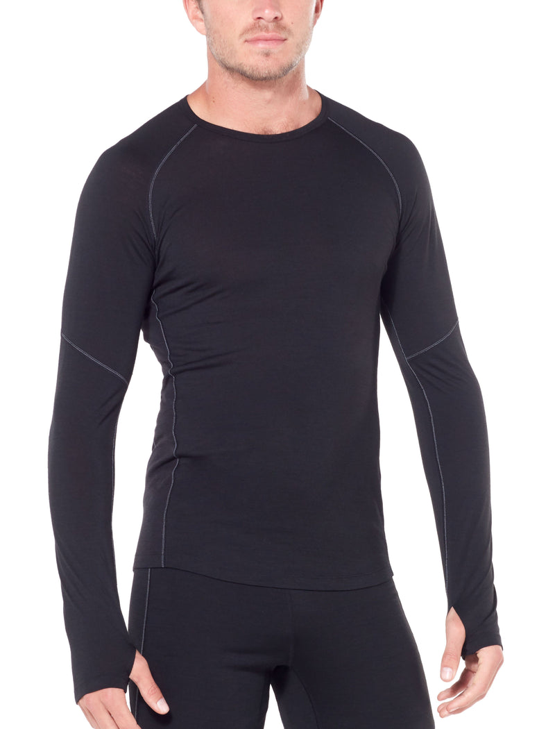 ICEBREAKER MENS BODYFITZONE 150 ZONE LONG SLEEVE CREW