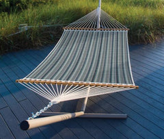 PAWLEYS LARGE QUILTED SUNBRELLA FABRIC HAMMOCK