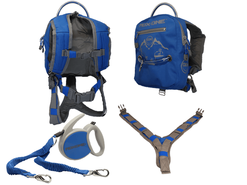 Mdxone Ox Harness With Retractable Leash & Backpack