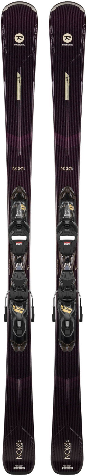 ROSSIGNOL WOMEN'S NOVA 6 SKI with EXPRESS W 11 GW B83 BINDING