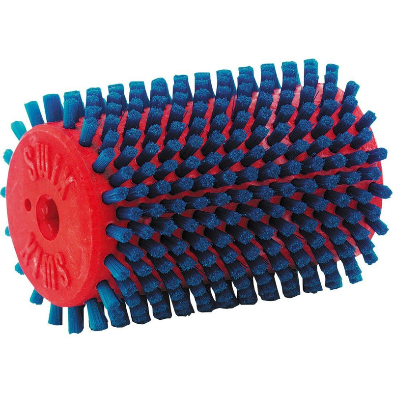 SWIX ROTOBRUSH NYLON 100mm BLUE
