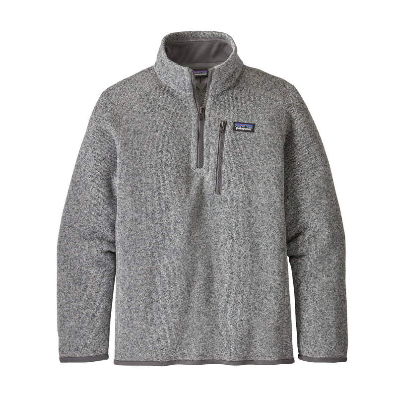 PATAGONIA BOYS' BETTER SWEATER 1/4 ZIP