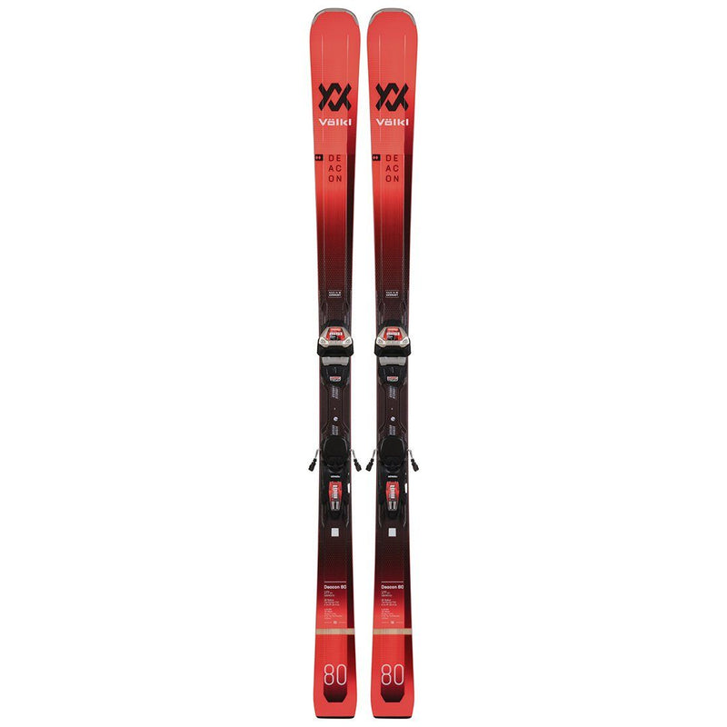 Volkl Men'S Deacon 80 Ski With Lr Xl 13 Fr Demo Bindings