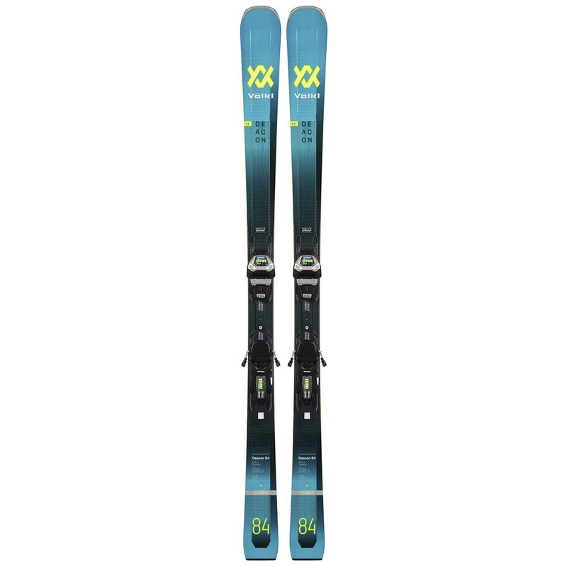 Volkl Men'S Deacon 84 Ski With Lr Xl 13 Fr Demo Bindings