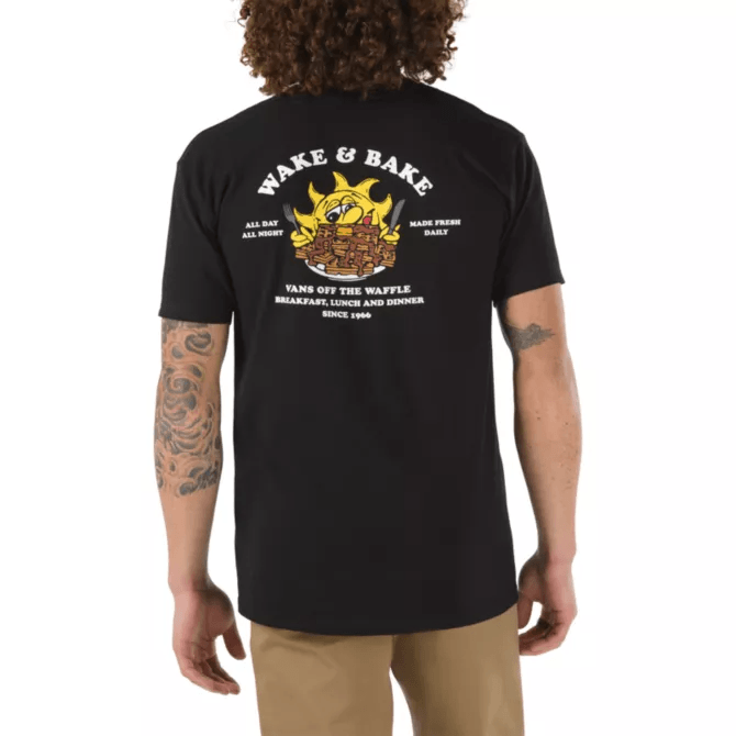 VANS MENS FULL PATCHED PULLOVER HOODY