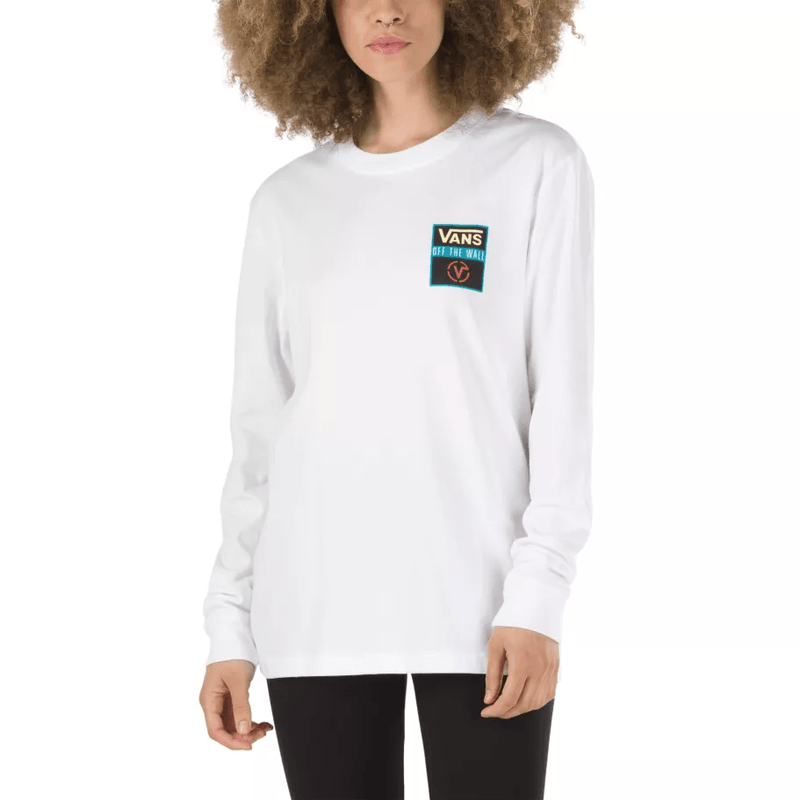 Vans Women'S Game Night Long Sleeve T-Shirt