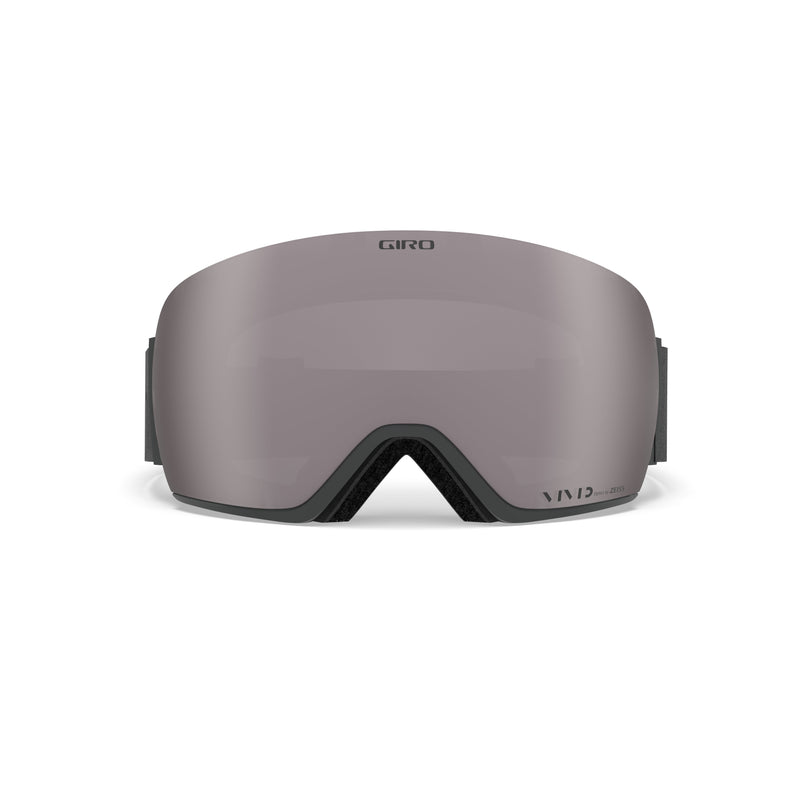 Giro Article Goggle - Grey Wordmark With Vivid Onyx & Vivid Infrared Lenses