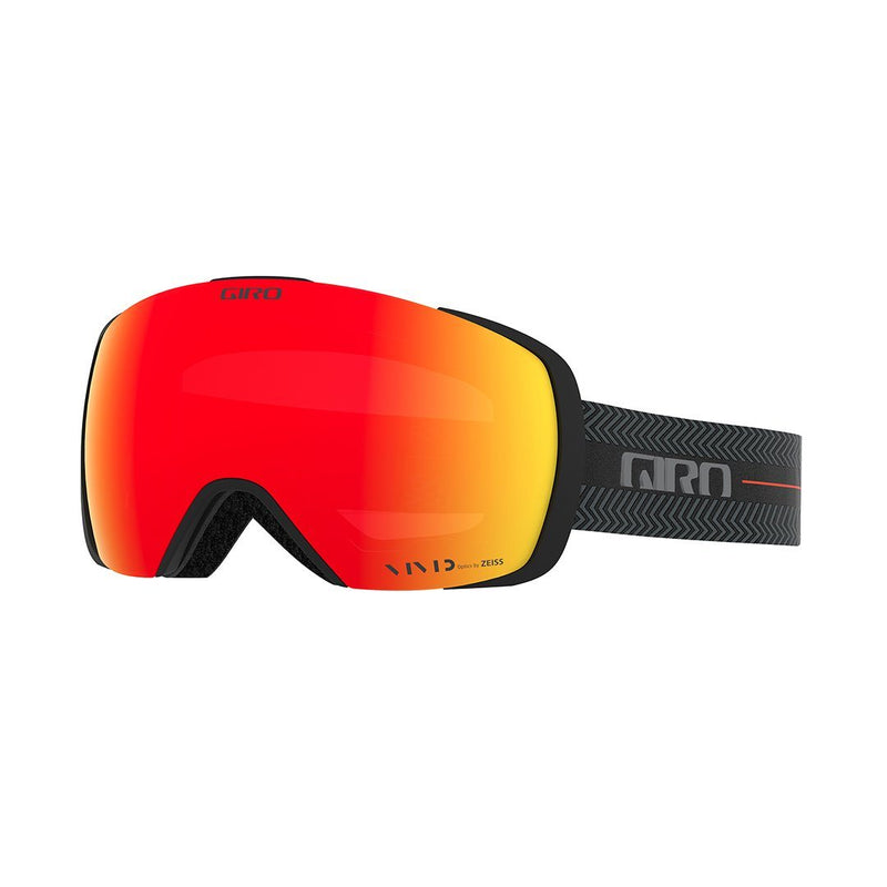 Giro Contact Goggles - Black Techline Strap With Vivid Ember/Vivid Infrared Lenses