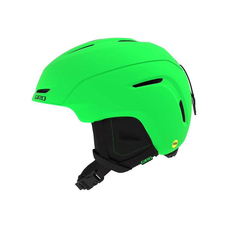 GIRO KIDS NEO JR MIPS HELMET MATTE BRIGHT GREEN